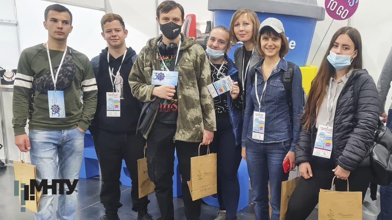 Студенти на Міжнародній виставці реклами та друку RemaDaysKyiv2021